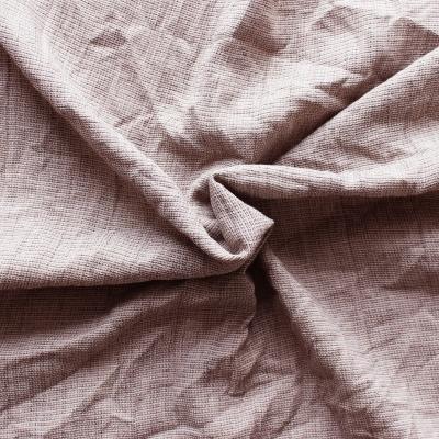 Gekreukelde polyester parelgrijs