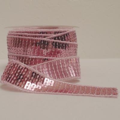 Roze biesje met strass