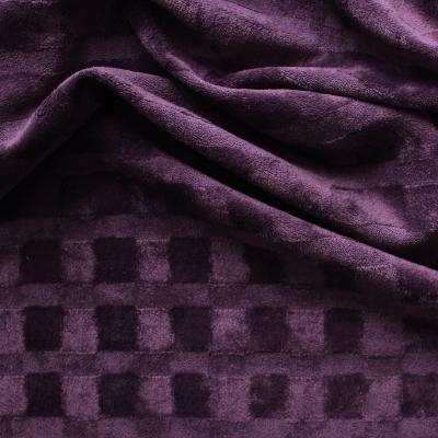 mauve Velvet fabric