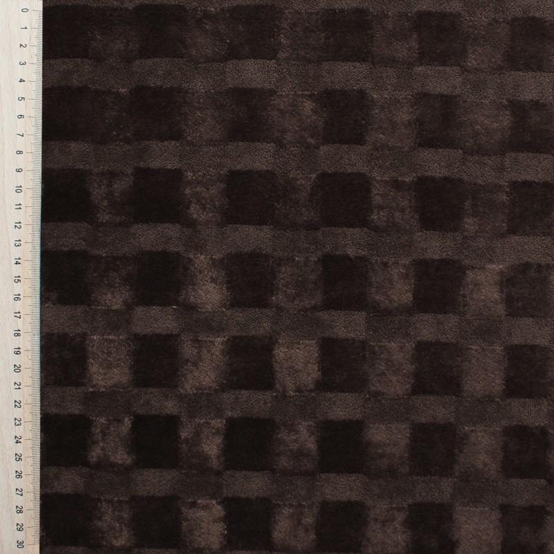 Brown Velvet fabric