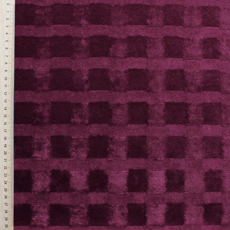 Purple Velvet fabric