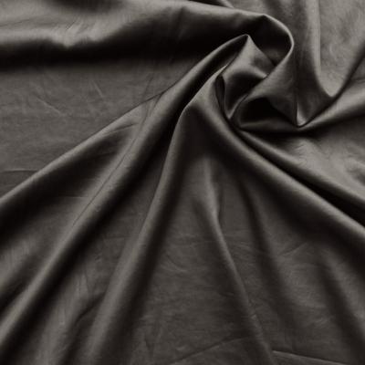 Kaki satin fabric