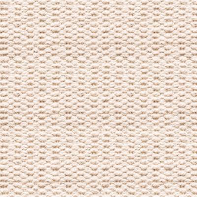 Tissu 100% coton imprimé à motif osier blanc