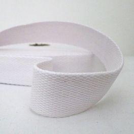 Sangle 100% coton blanc