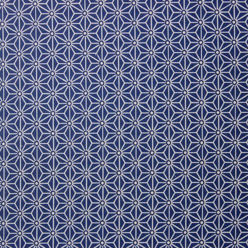 tissu d 39 habillement cretonne 100 coton motif saki origami. Black Bedroom Furniture Sets. Home Design Ideas
