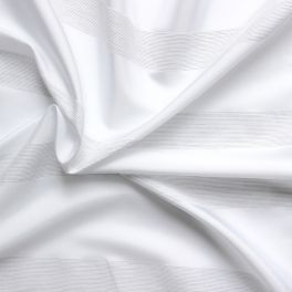 Striped clothing fabric