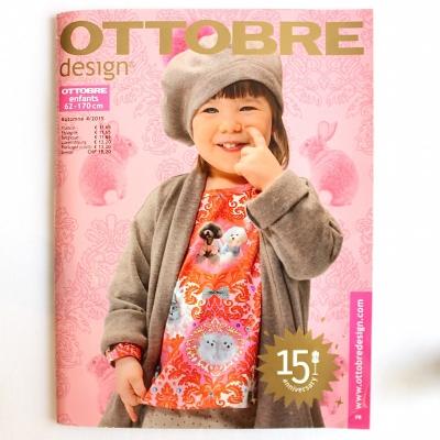 Naaimagazine Ottobre design Kids - Herfst 4/2014