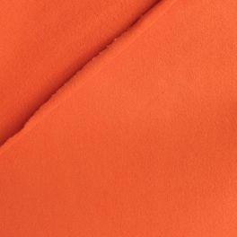 Beige fleece fabric