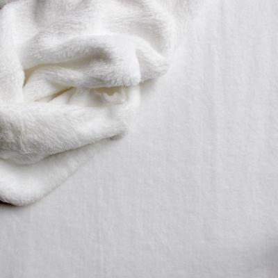 whit velvet fabric