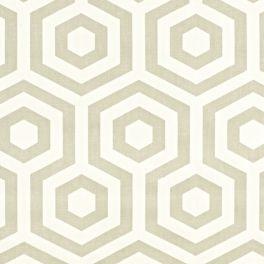 Tissu d'ameublement à motif d'hexagone