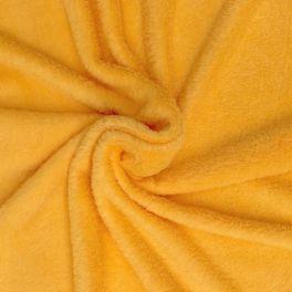 Minkeestof effen geel