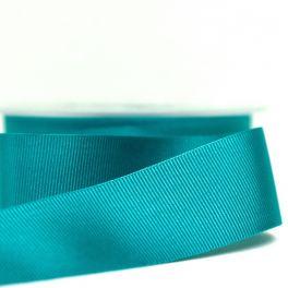 ruban satin gros grain turquoise