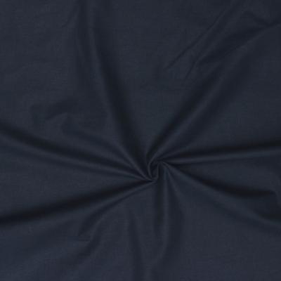 Cretonne fabric - plain midnight blue