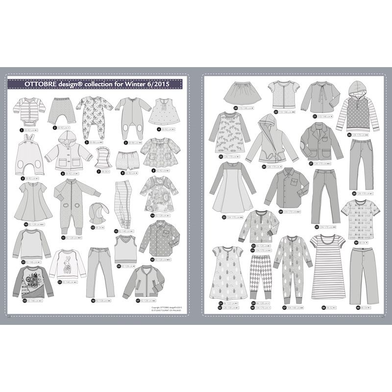 magazine de couture ottobre design femme automne hiver 5 2015. Black Bedroom Furniture Sets. Home Design Ideas