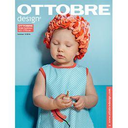 Magazine de couture Ottobre design Enfant - Eté 3/2016