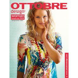 Naaimagazine Ottobre design Vrouw - Lente / Zomer 2/2015
