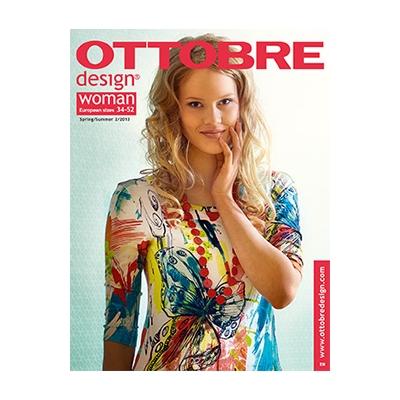 Sewing magazine Ottobre design Women -  Spring/ summer 2/2015