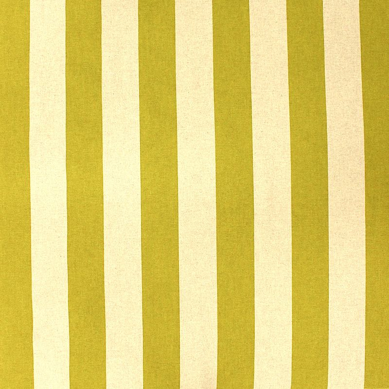 Tissu D 39 Ameublement Rayures Vert Gazon