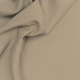 Opcifierende  stof met linnen aspect lichtbruin