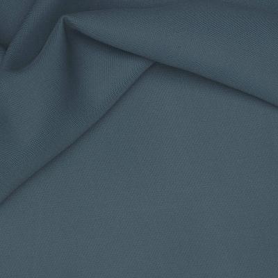 Verduisterende stof met linnen aspect nachtblauw