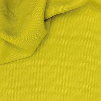Verduisterende stof met linnen aspect anijsgroen