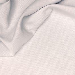 Opcifierende  stof met linnen aspect wit