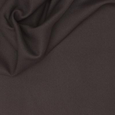 Verduisterende stof met linnen aspect antracietgrijs