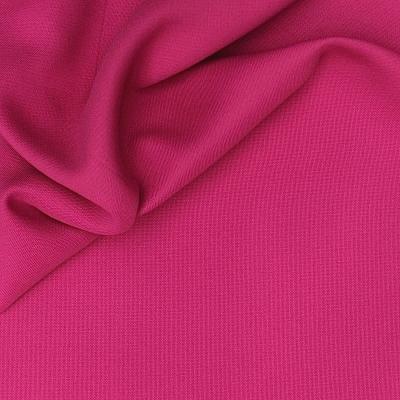 Opcifierende  stof met linnen aspect fuschia