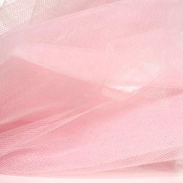 Roze stijve tule