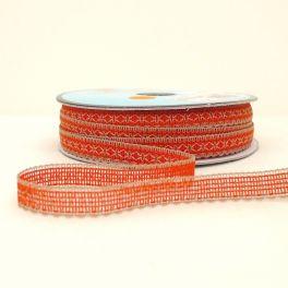 ruban orange et chanvre