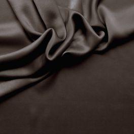 Copper crêpe satin silk