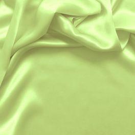 Pale pink crepe satin silk