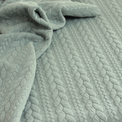 Sweatshirt fabric with fluffy fleece back