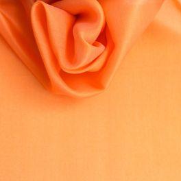 Organza stof in 100% zijde abrikooskleur