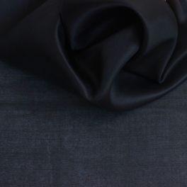 Organza stof in 100% zijde zwart