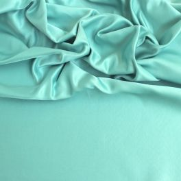 Emerald green leather satin
