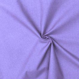 Cotton cretonne plain lavender blue
