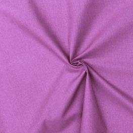Cotton cretonne plain hyacinth purple