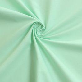 Cotton cretonne plain mint green