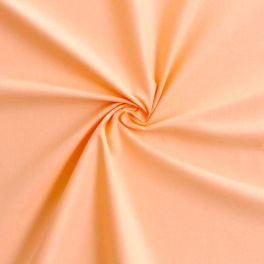 Cotton cretonne plain apricot