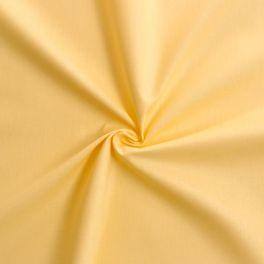 Cotton cretonne plain bright yellow