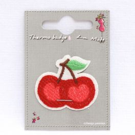 Iron-on patch cherry's