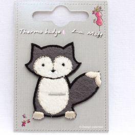 Iron-on patch little grey fox