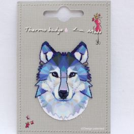 Iron-on patch wolf