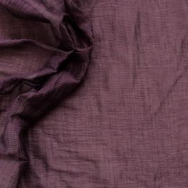 Shiny clothing fabric purple