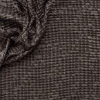 Tissu vestimentaire métallisé gauffré