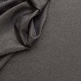 Polyester fabric in wide width plain anthracite