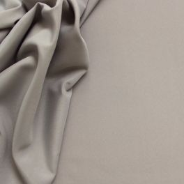 Polyester fabric in wide width plain grey