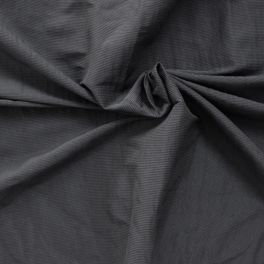 Lichte kledingstof gestreept antracietgrijs