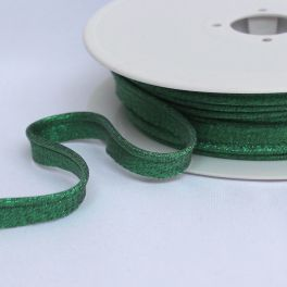 Piping cord Lurex shiny green